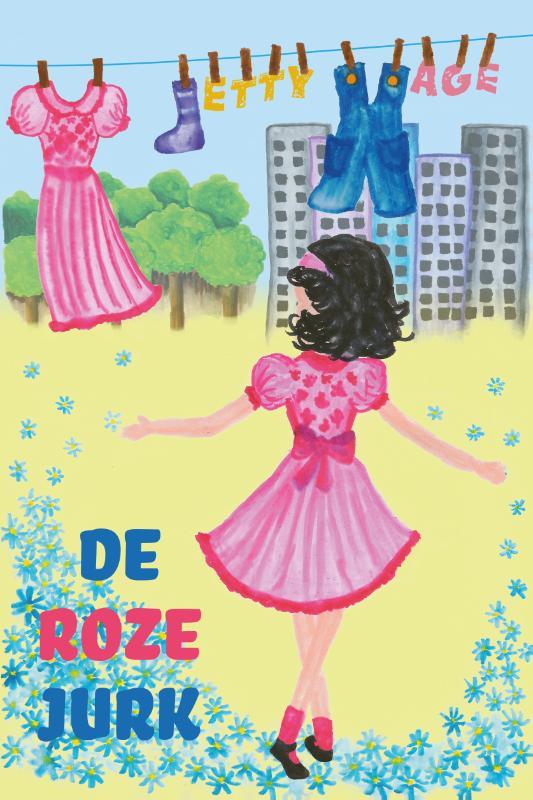 De roze jurk