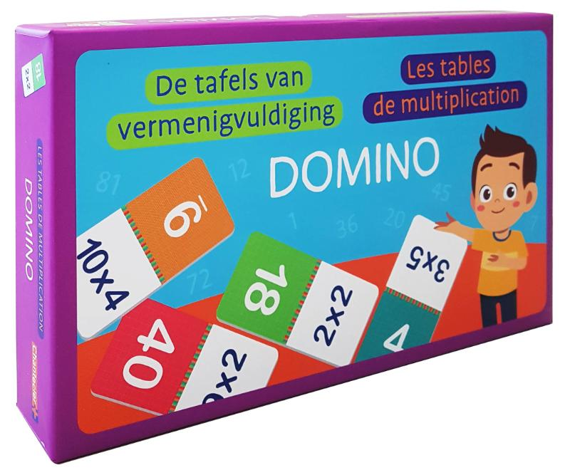 Domino - De tafels van vermenigvuldiging / Domino - Les tables de multiplication