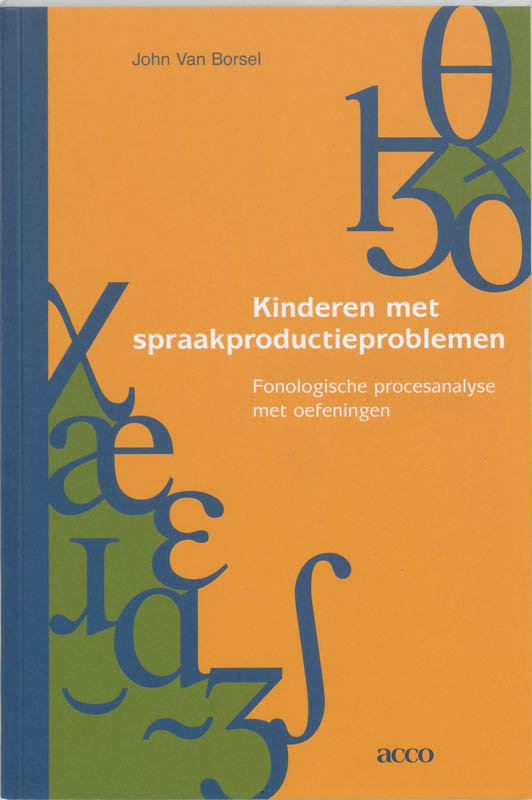 Kinderen met spraakproductieproblemen