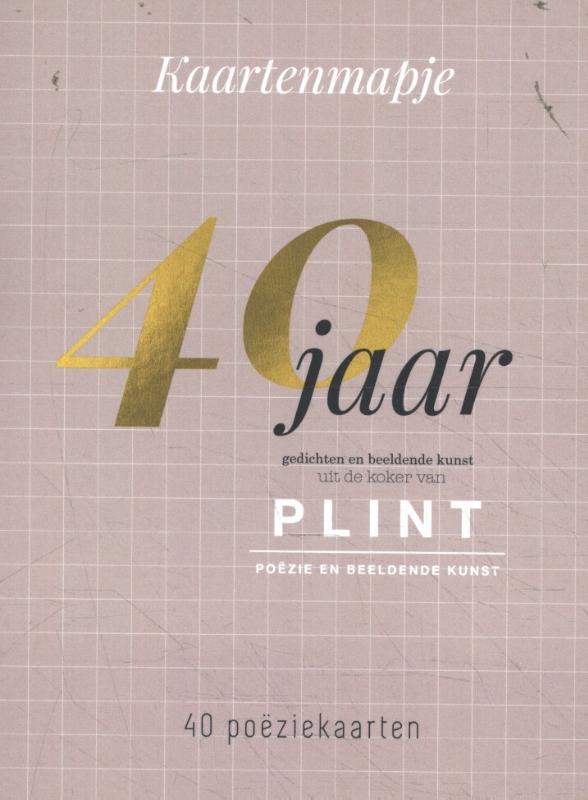 Plint 40 poëziekaarten uit 40 jaar plint