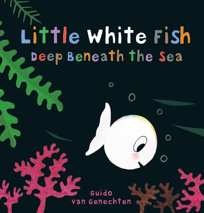 Little white fish deep beneath the sea