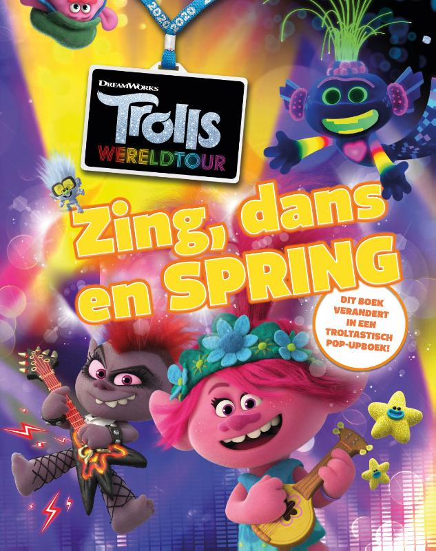 Trolls Wereldtour - Zing, dans en spring