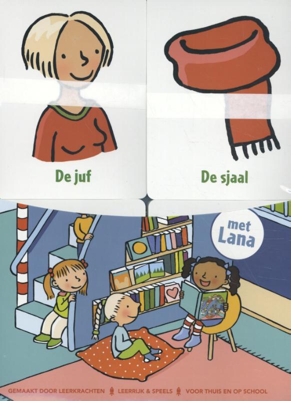 School - Boek + woordkaarten