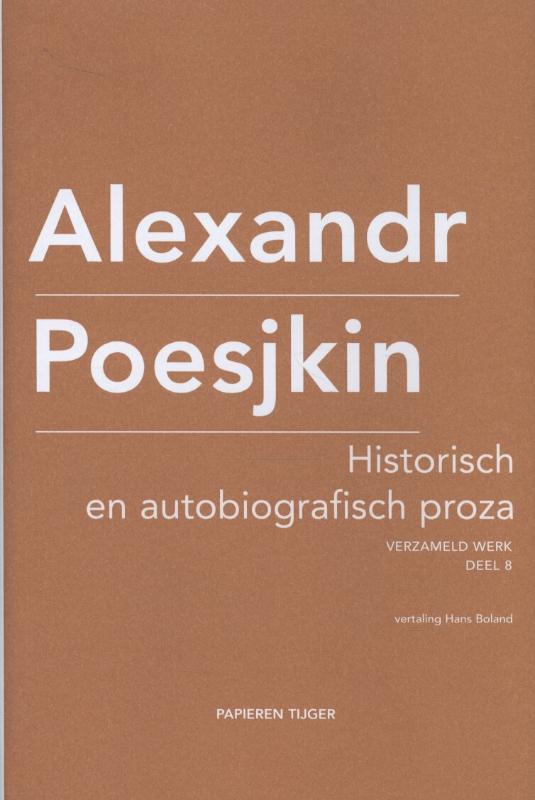 Historisch en autobiografisch proza