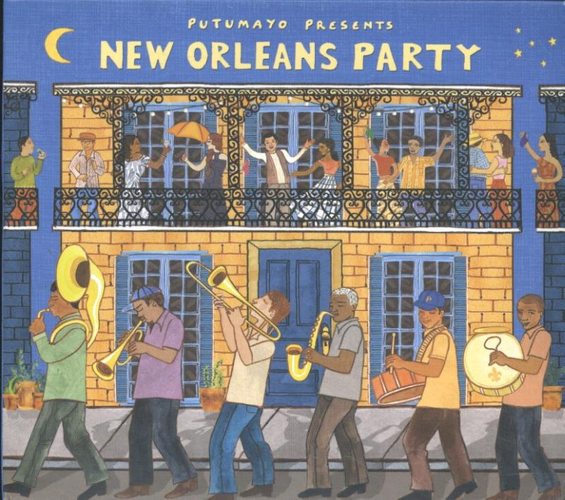 Putumayo Presents - New Orleans Party (CD)