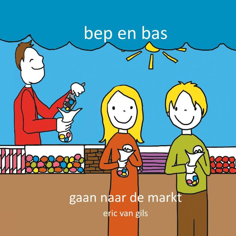 Bep en Bas gaan naar de markt