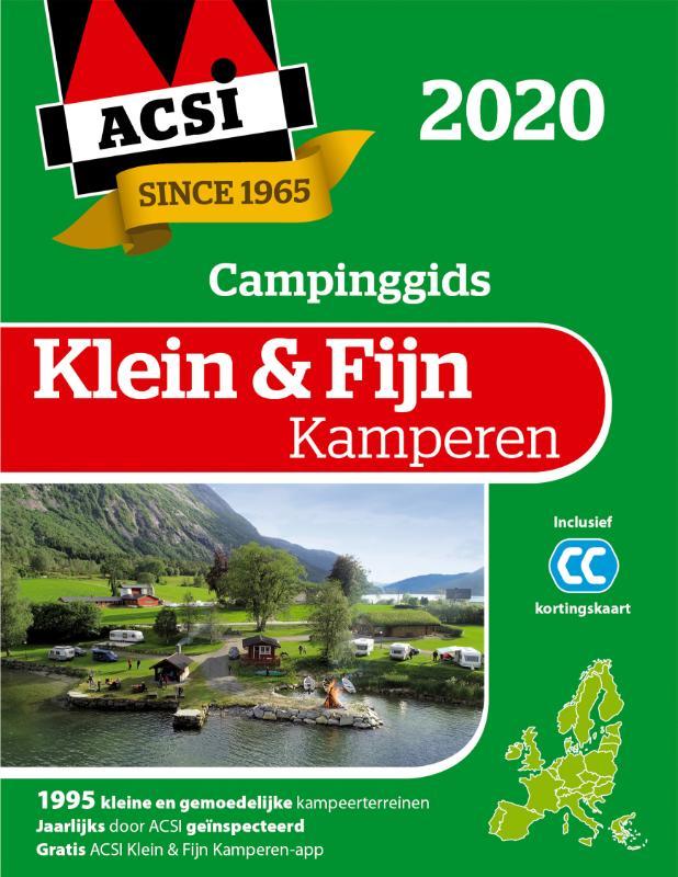 ACSI Klein & Fijn Kamperen gids + app 2020