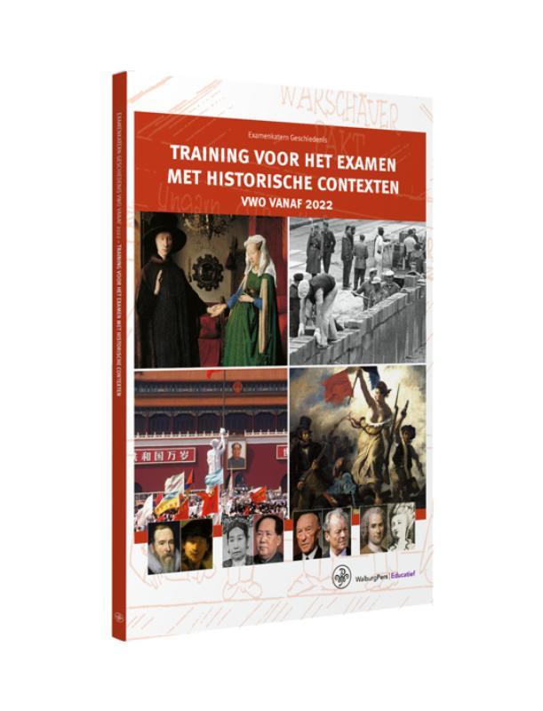 Examenkatern - Training voor het Examen met Historische Contexten - vwo vanaf 2022