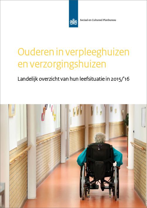 Ouderen in verpleeghuizen en verzorgingshuizen