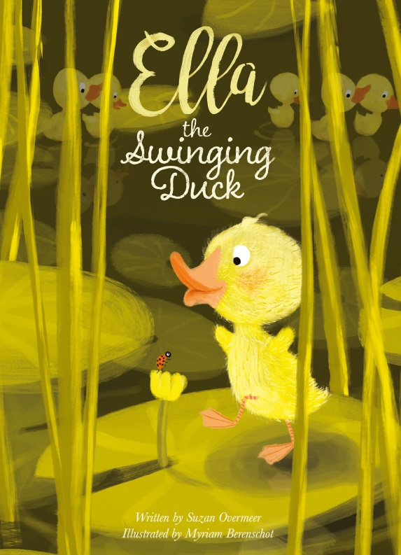 Ella the swinging duck