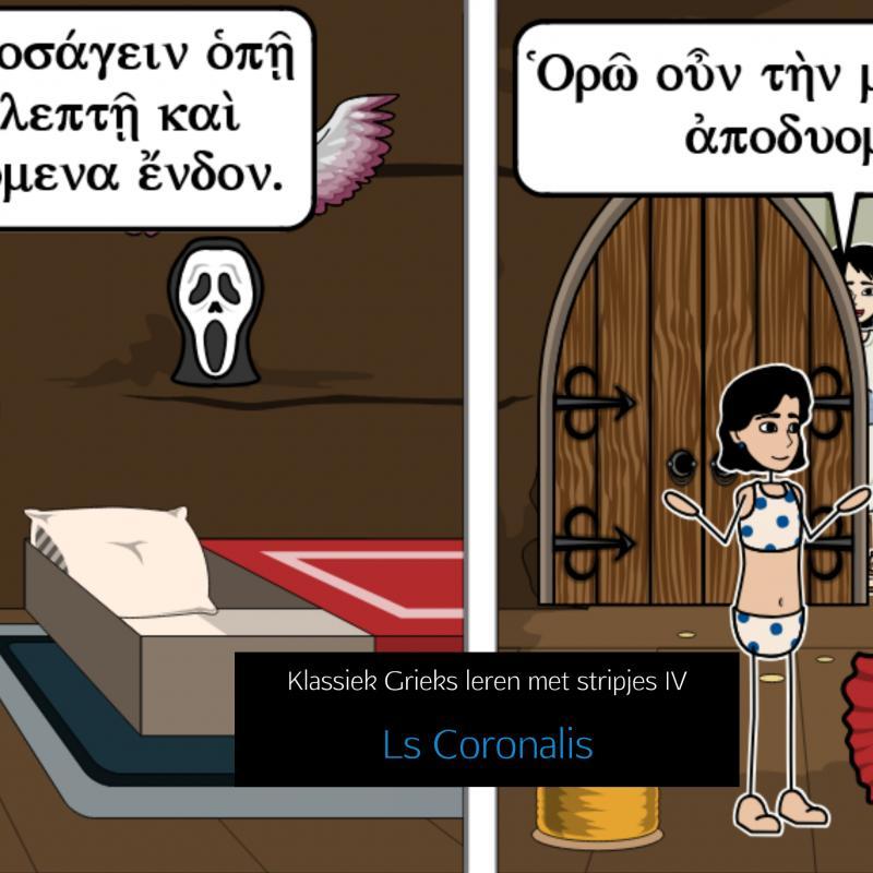 Klassiek Grieks leren met stripjes IV