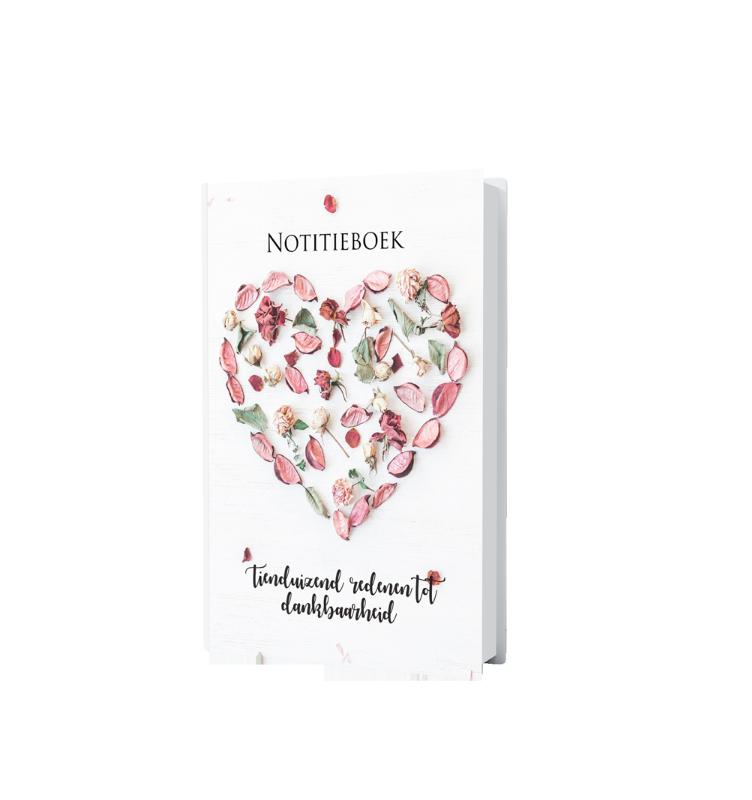 Notitieboek 'Tienduizend redenen tot dankbaarheid'
