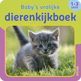 Babys vrolijke dierenkijkboek 1-3 jaar