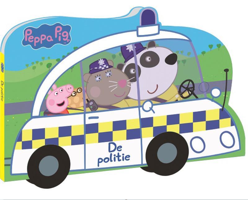 De politieauto