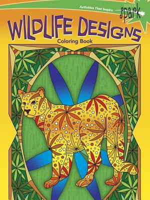 Spark Wildlife Designs Coloring Book