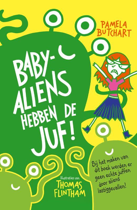 Baby-aliens hebben de juf