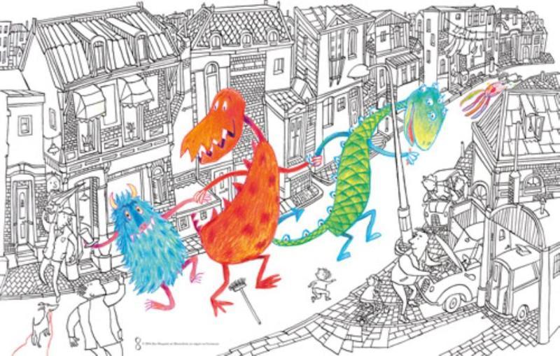 Poster Monsterboek 25 exemplaren