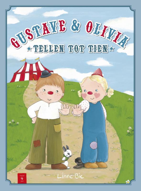 Gustave en Olivia tellen tot tien