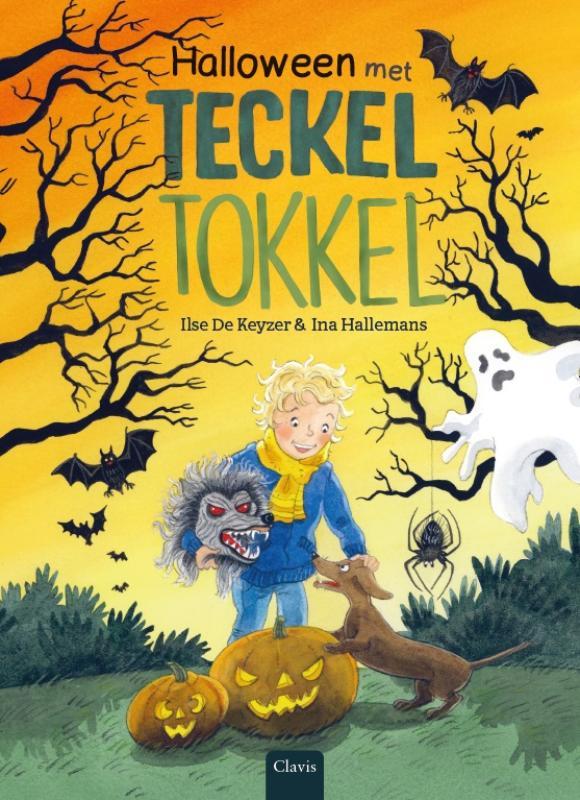 Halloween met teckel Tokkel