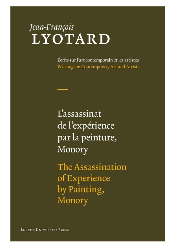 L'assassinat de lexperience par la peinture, Monory