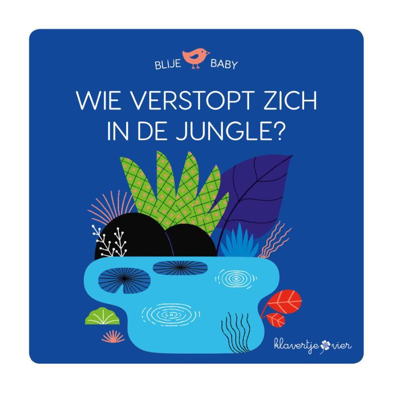 Blije baby: Wie verstopt zich in de jungle? (puzzelboek)