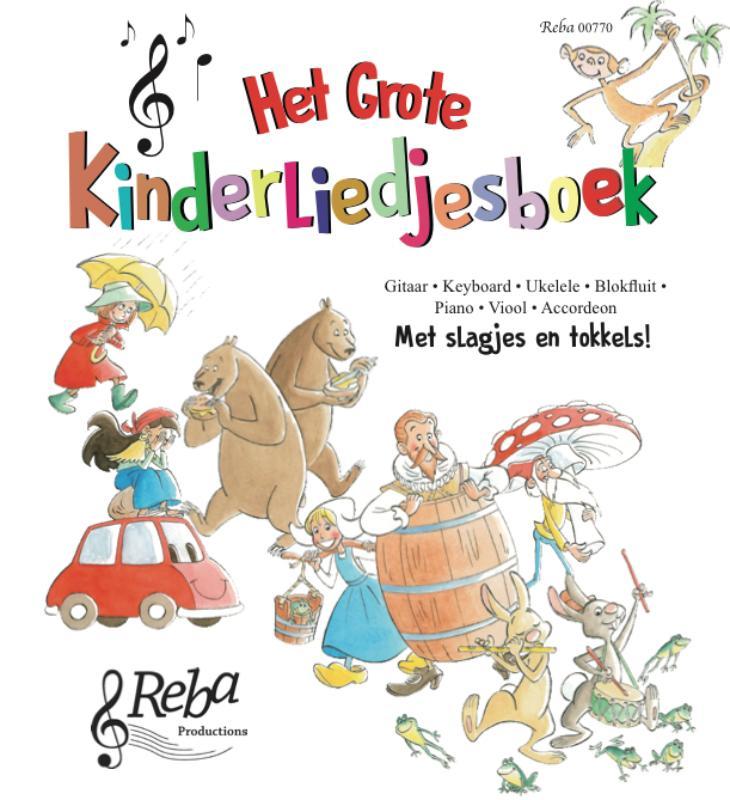 Het grote kinderliedjesboek
