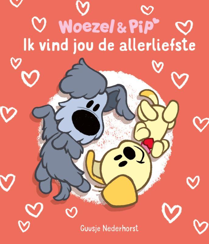 Woezel & Pip - Ik vind jou de allerliefste display 10 ex.