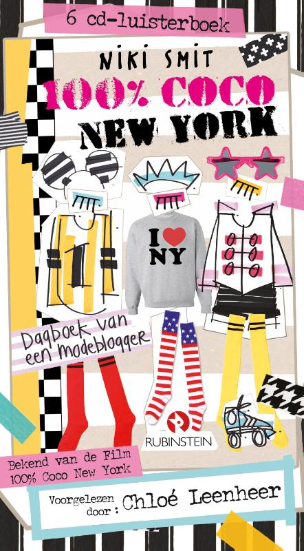100% Coco New York 6 CD Luisterboek