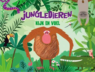 Kijk en voel - Jungledieren