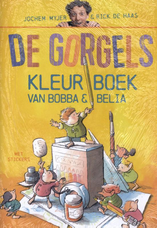 De Gorgels Bobba & Belia Kleurboek set 5 ex