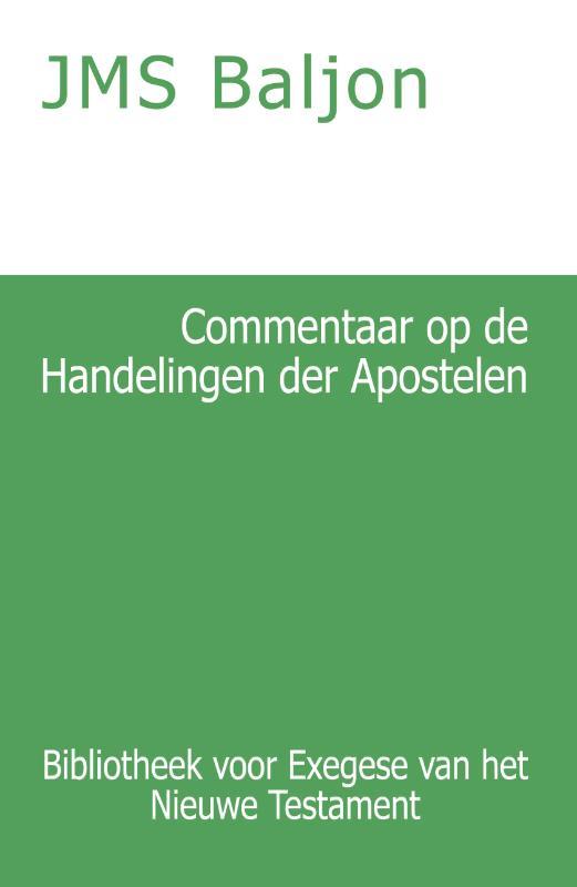 Commentaar op de Handelingen der Apostelen