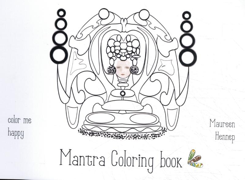 Mantra Coloring book