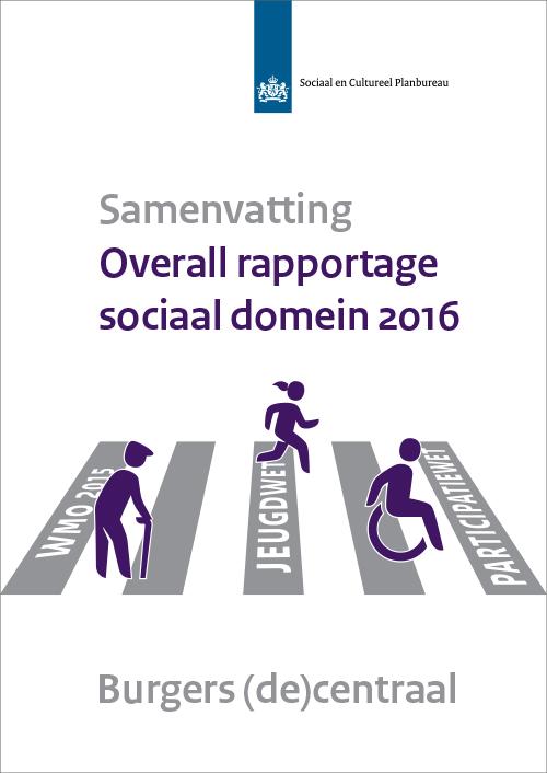 Samenvatting - Overall rapportage sociaal domein 2016
