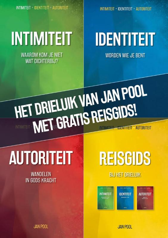 Drieluik-pakket van Jan Pool met gratis Reisgids!