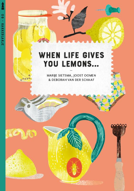 When life gives you lemons... (set van 6)