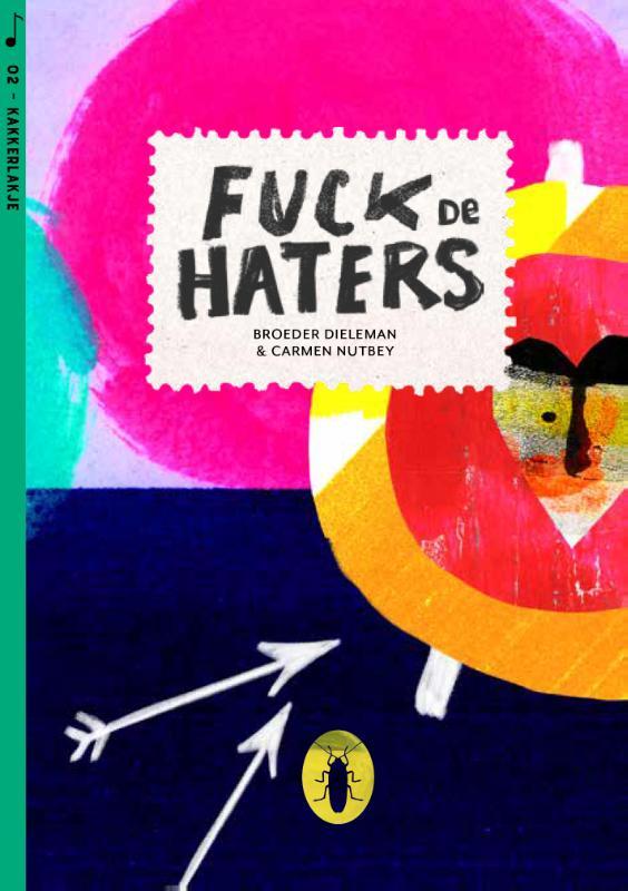 Fuck de haters (set van 6)
