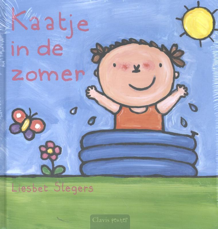 Kaatje pretpakket ( Kaatje in de zomer + stickerboek Kaatje + strandbal )