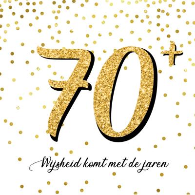 70+, wijsheid komt met de jaren