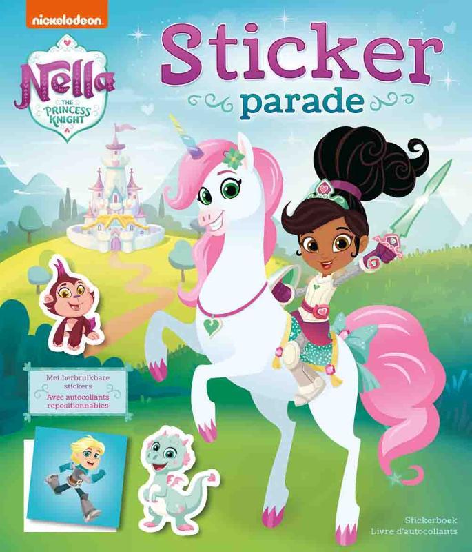 Nella the Princess Knight Sticker Parade