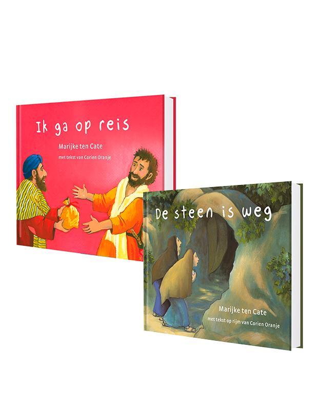 SET: Prentenbijbel kartonboekjes NT