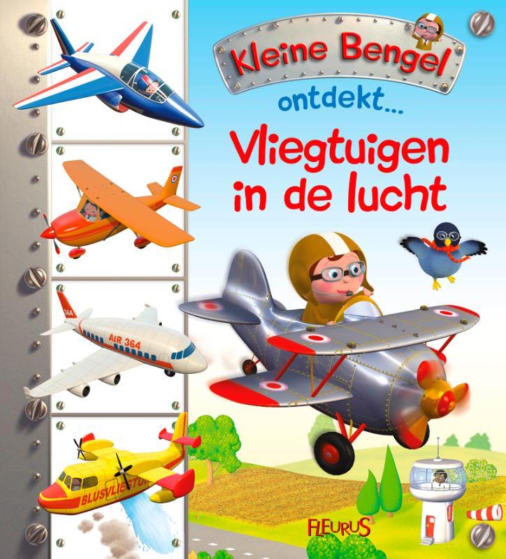 Vliegtuigen in de lucht
