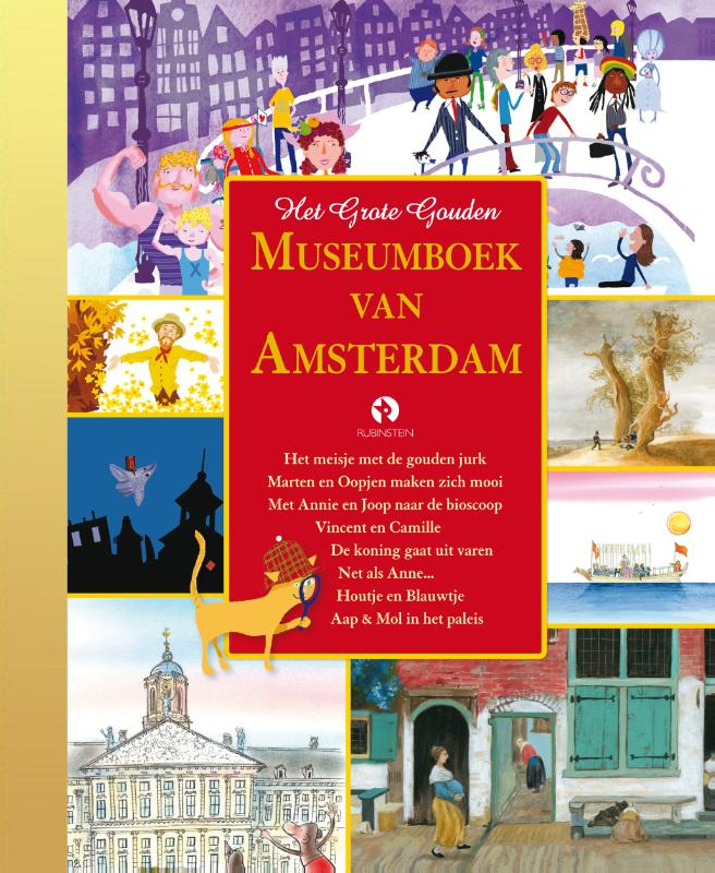 Het Grote Gouden Museumboek van Amsterdam