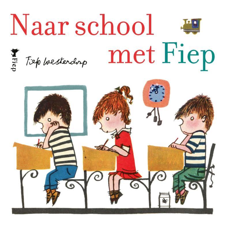 Naar school met Fiep - Display 6 ex