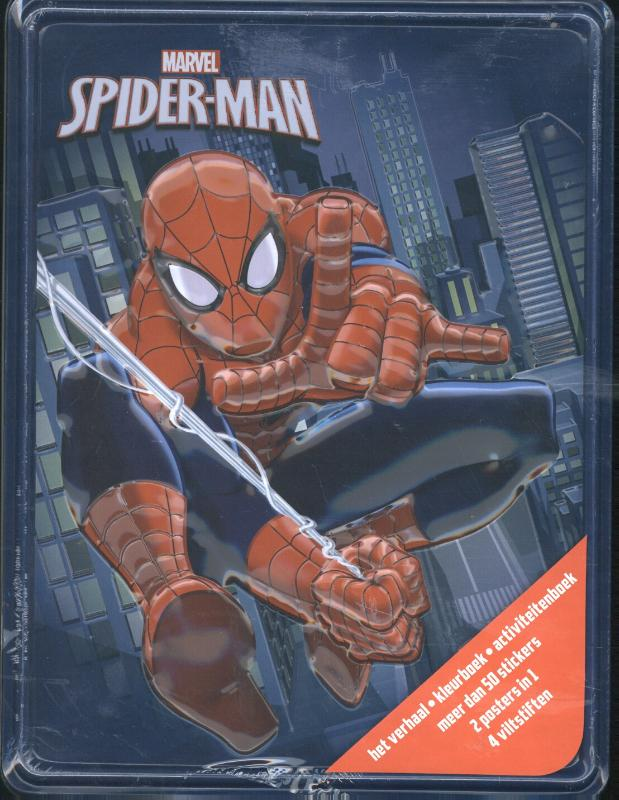 Disney Spiderman Happy Tin