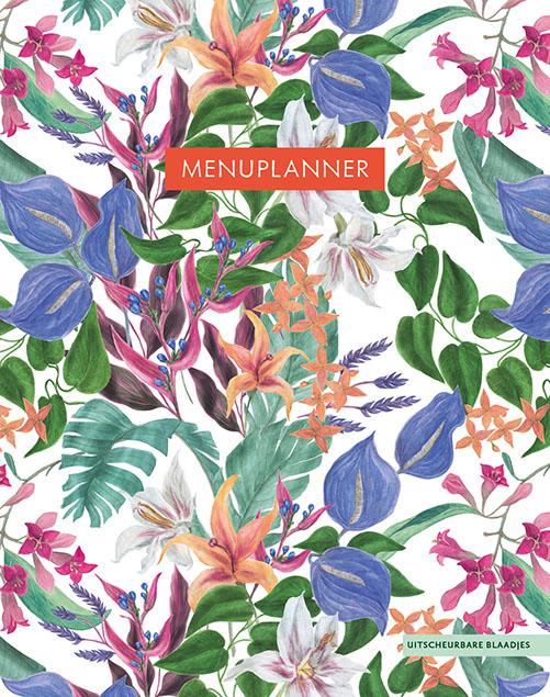 Menuplanner - Tropical Flowers