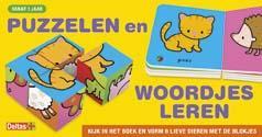 Puzzelen en woordjes leren
