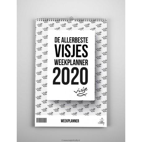 De allerbeste visjes weekplanner 2020