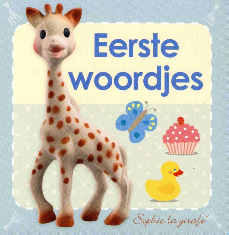 Baby kartonboekje Sophie - Eerste woordjes