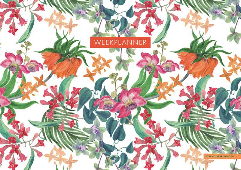 Weekplanner - Tropical Flowers