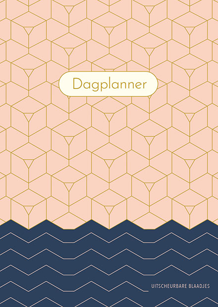 Dagplanner - Pink Patterns